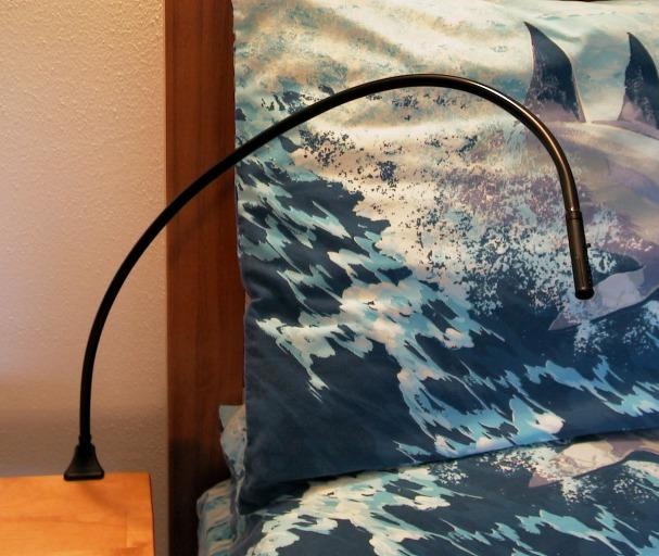 Juraf Bedside Reading Light - Bendable LED Bed Lamp -120 VAC - Elegant styling eBay